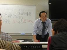 講師の川村専務理事